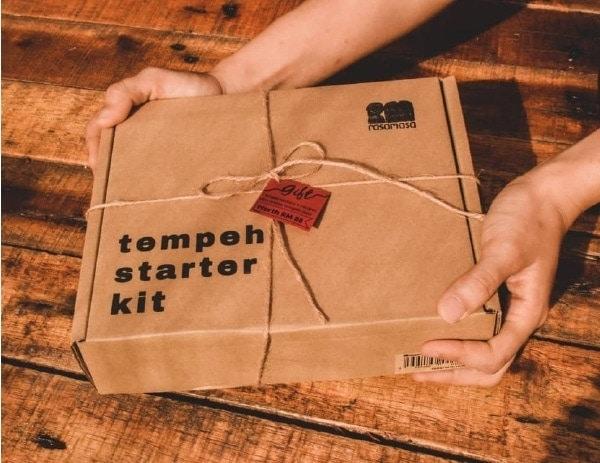 rasamasa tempeh starter kit box