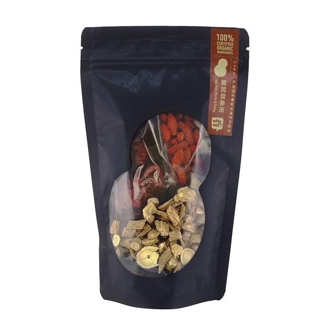 Why Not? Huang Qi Herbal Soup Mix 有机黄芪党参汤, 77g