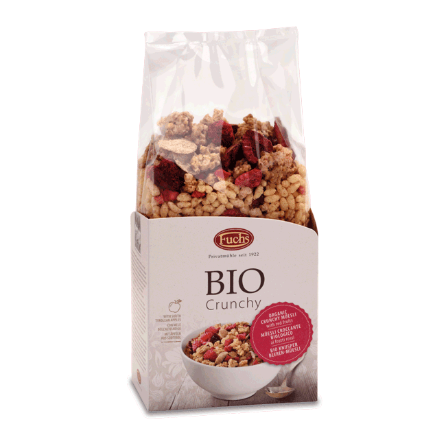 Fuchs Organic Crunchy Muesli with Red Fruits 350g