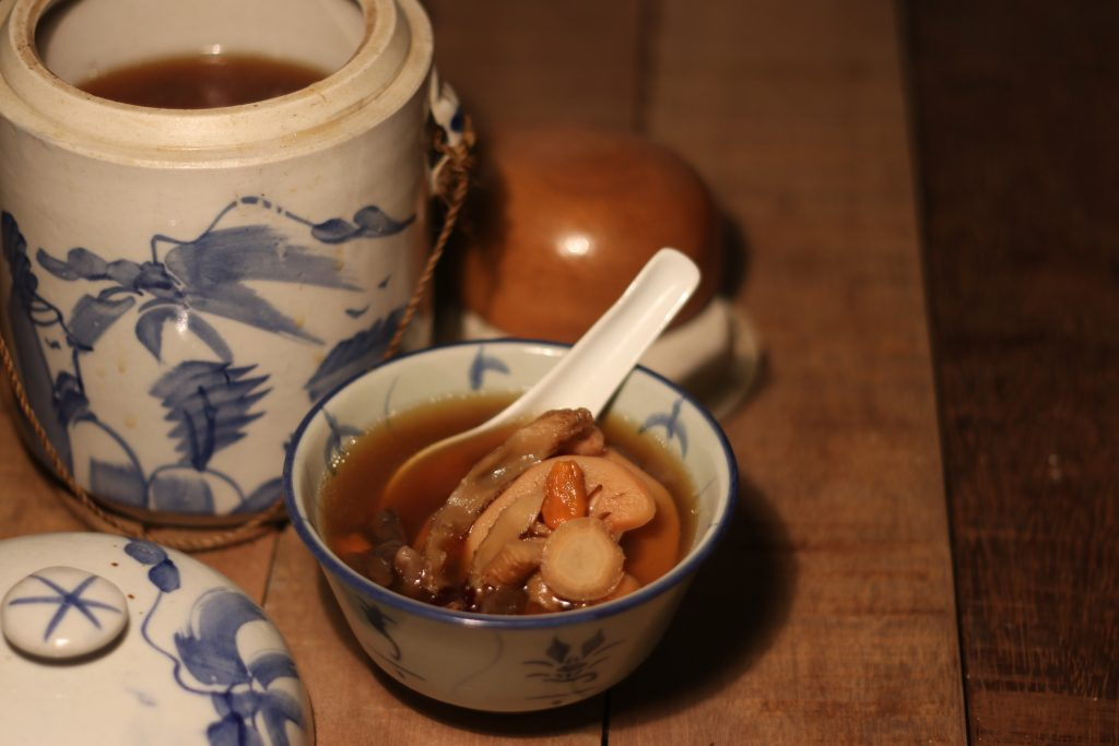 Chinese herbal soup