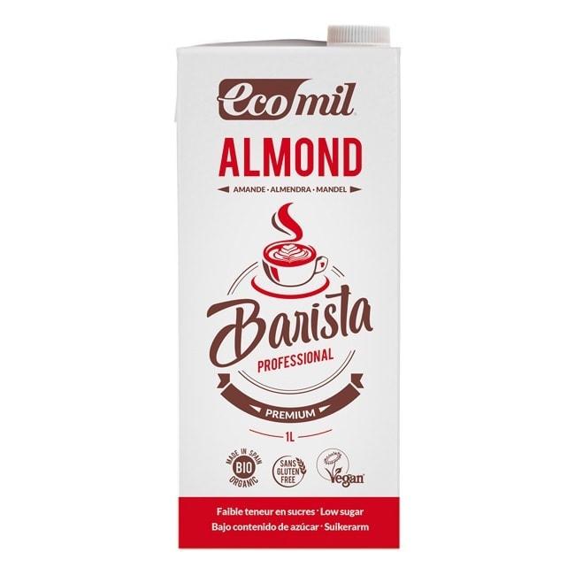 Ecomil Barista Almond Milk Low Sugar, 1L