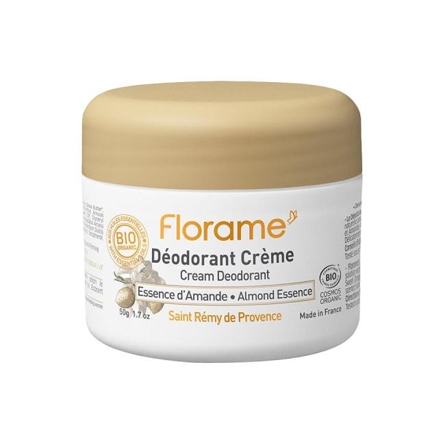 Florame Cream Deodorant Almond Essence, 50g