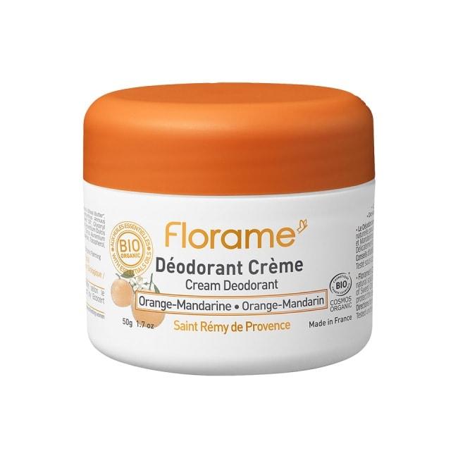 Florame Cream Deodorant Orange-Mandarin, 50g