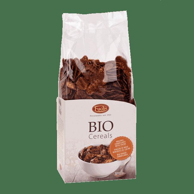 Fuchs Organic Cornflakes with Cocoa, 300g