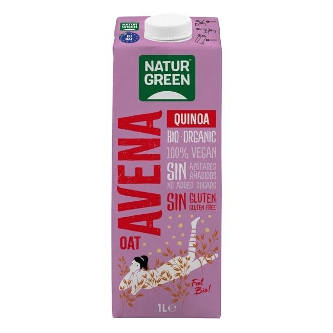 NaturGreen Oat Quinoa Drink Gluten Free, 1L