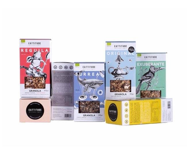 Eattitude granola packaging 5