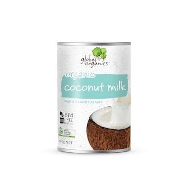Global Org Coconut Milk 17% Fat, 400g