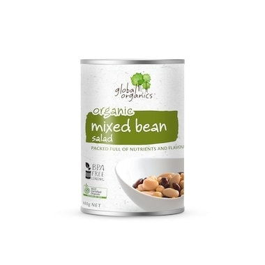 Global Organics Beans Mixed Bean Salad, 400g