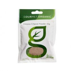 Gourmet Organic Chinese 5 Spice Powder 30g