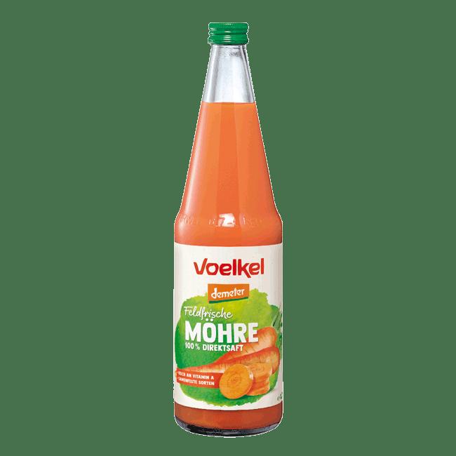 Voelkel Organic Carrot Juice (Demeter), 700ml