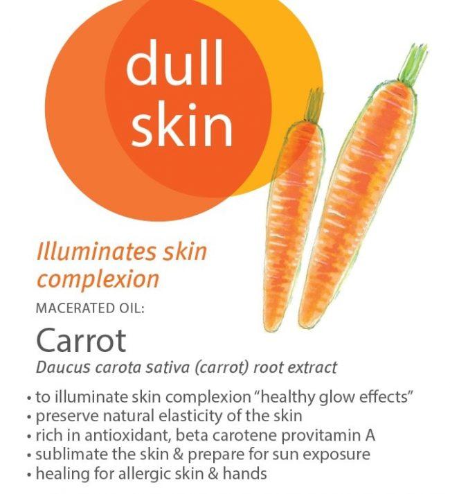 Florame Carrot Macerate Organic Vegetable Oil, 50ml