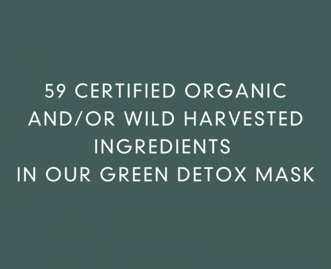Abloom Organic Green Detox Mask, 100ml