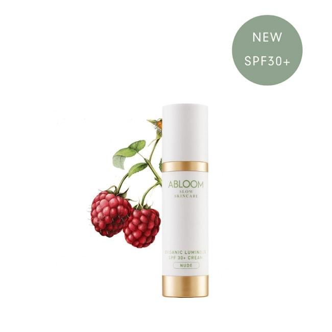 Abloom Organic Luminous SPF 30+ Cream - Nude