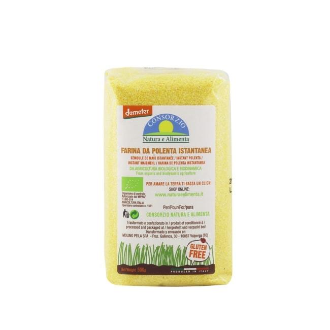 Natura e Alimenta Organic Biodynamic Instant Polenta, 500g