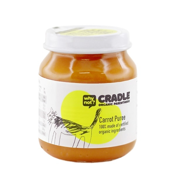 Why Not Cradle Carrot Puree, 130g