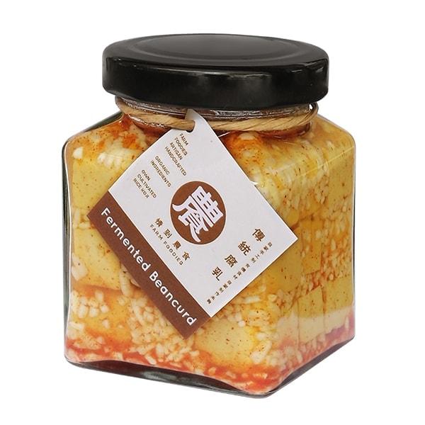 Farm Foodies Fermented Beancurd (Original), 180g